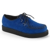 CREEPER-602S Royal Blue Suede